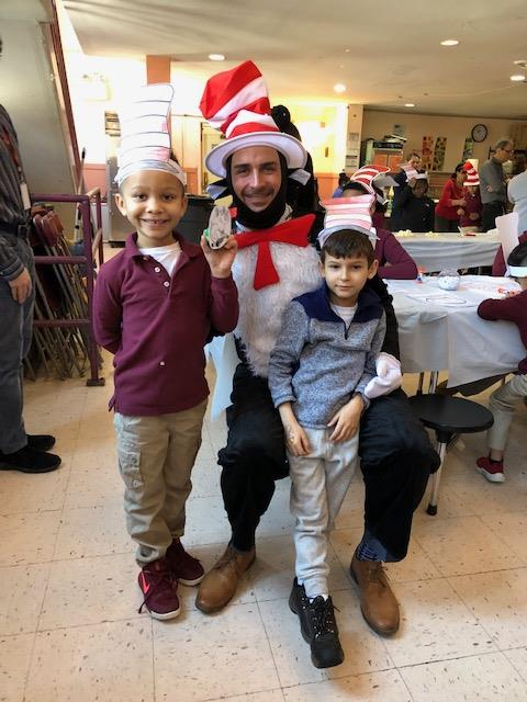 Dr Seuss comes to Pennington to celebrate reading!
