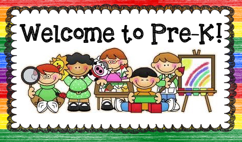 Image result for welcome to pre-kindergarten