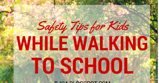 Tips for Walking to School