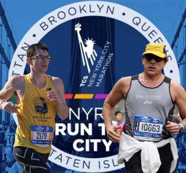 Mr. Aronson & Mr. Morris recently participated in the NYC Marathon