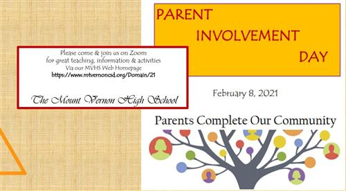 Parent Involvement Day February 8th