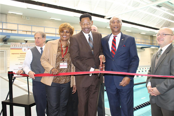Ribbon Cutting Scheduled for Mount Vernon High School Swimming Pool