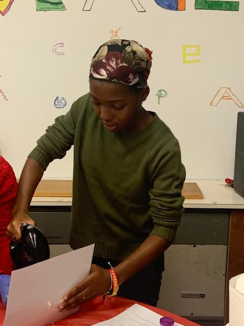 Students Make Shea Butter at MVHS Library