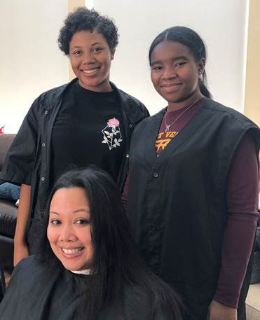 Mount Vernon High School Students Volunteer  Cosmetology Services to Ronald McDonald House Residents
