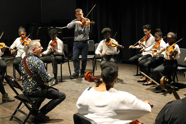 District Hosts  Royal Philharmonic Orchestra