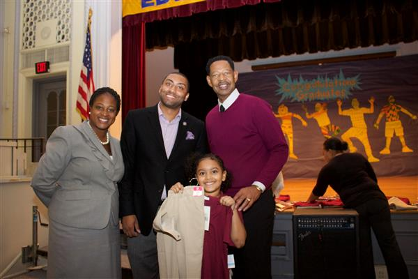 State Sen. Jamaal Bailey donates 24 school uniforms to Edward Williams Elementary School