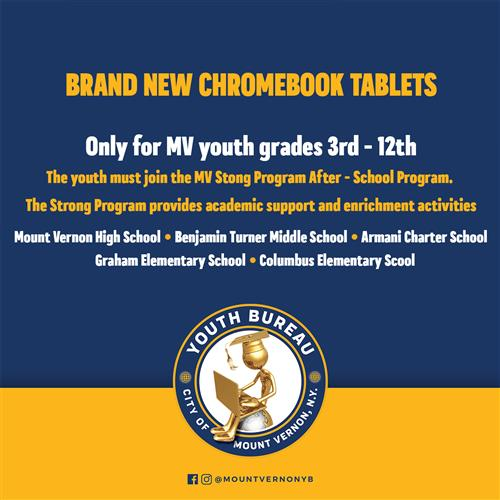 Chromebook Tablets for STRONG Students