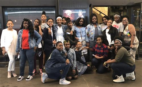 Ms. Henry took the G.E.M.s club (Girls Embracing Maturity) to see Wicked on Broadway!
